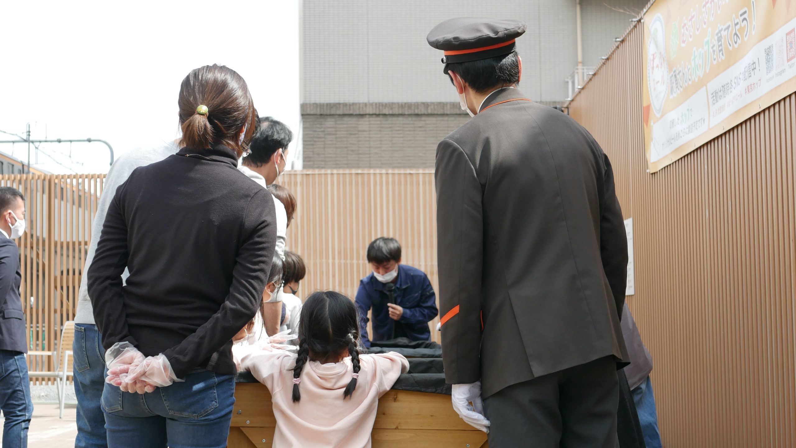 【武蔵境編】JR武蔵境駅でホップ苗植えイベントを開催しました!